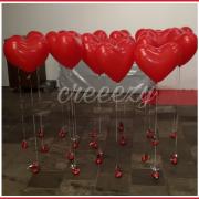 valentijn hartjes los aan gewicht