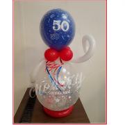 cadeau ballon 50 verjaardag