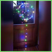 transparante ballon met verlichting eraan