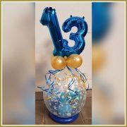 cadeau ballon 13 jr