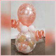 cadeau ballon huwelijk