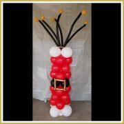 pilaar kerst met riem
