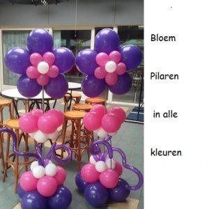 Pilaar met bloemen BP-001