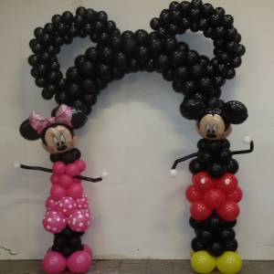 Mickey & Minnie boog