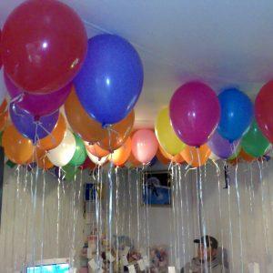 ballonnen oplaten