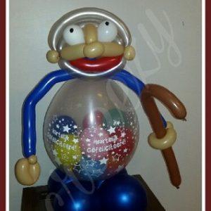 Cadeau ballon abraham
