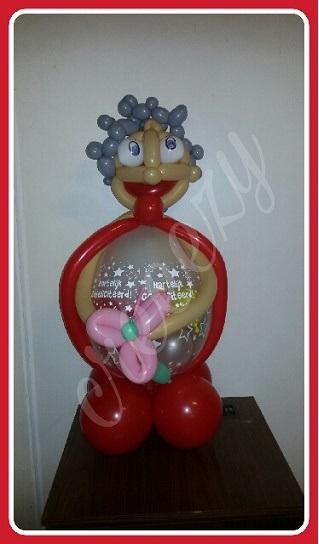 Betere cadeau ballon sarah abraham huren creeezy roosendaal en omgeving MJ-79