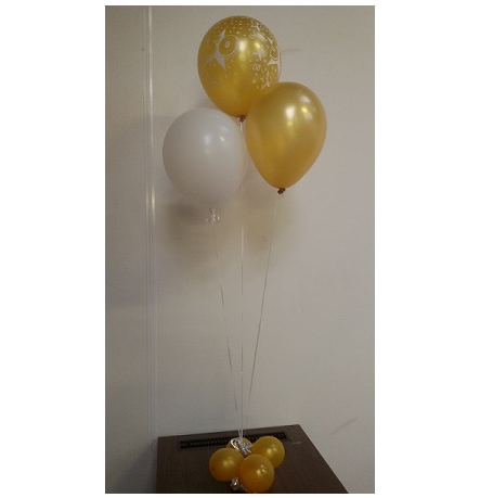 helium ballonnen per 3