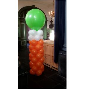 pilaar met topballon
