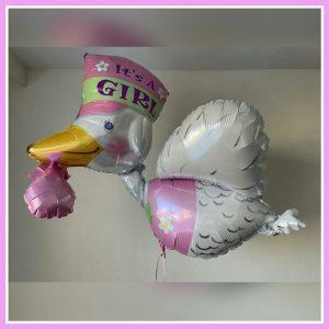 Baby helium decoratie