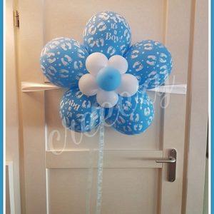 baby deur decoratie