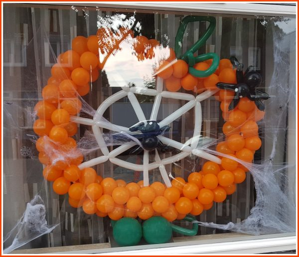 Halloween Pompoen spinnen SP-003