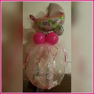 cadeau ballon wieg