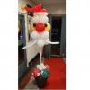 kerstman hoofd