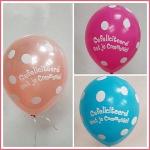 Bedrukte helium ballon TD-010
