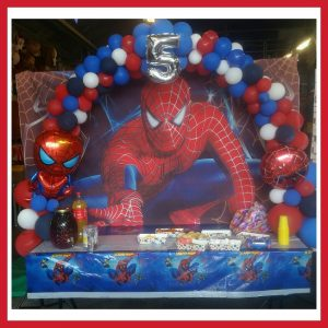 tafelboog spiderman