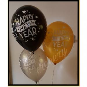 nieuwjaar helium ballonnen