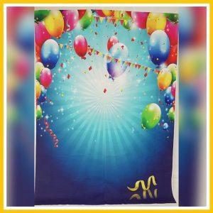 ballonnen achterwand