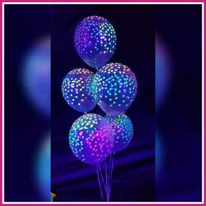 neon ballonnen blacklight