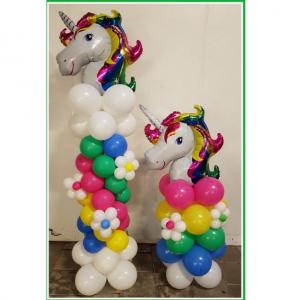 unicorn pilaar groot en klein