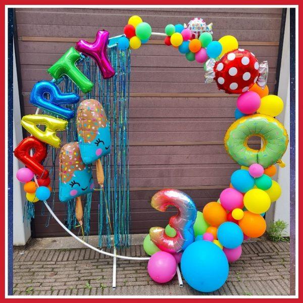 ballon boog ring snoepjes