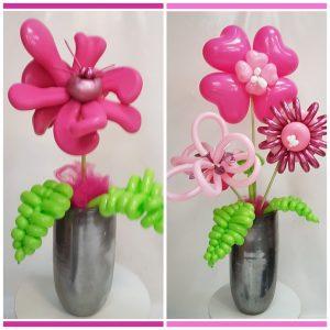 bloemen zuil set