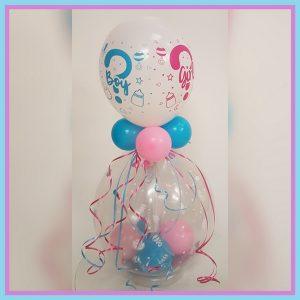 gender cadeau ballon